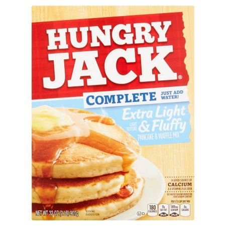 Hungry Jack Complete Extra Light & Fluffy Pancake Mix (32oz)