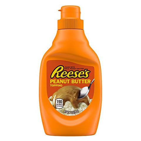Reese's Peanut Butter Topping (7oz) - A Taste of the States