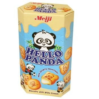 Meiji Vanilla Hello Panda (60g) 2.1oz - A Taste of the States