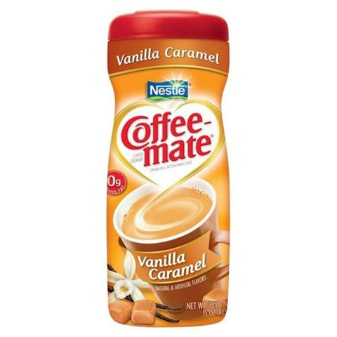 Nestle Coffee-Mate Vanilla Caramel (15oz tub) - A Taste of the States
