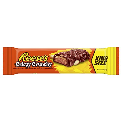 Reese's King Size Crispy Crunchy Bar (3.1oz) - A Taste of the States