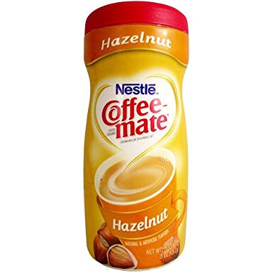 Nestle Coffee-Mate Hazelnut (15oz tub)
