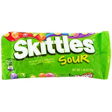 Skittles Sour (1.8oz) - A Taste of the States