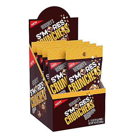 Hershey's S'mores Crunchers (1.8oz) - A Taste of the States