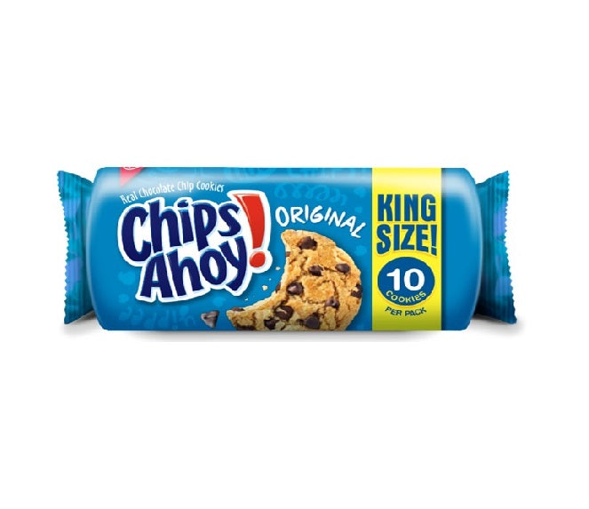 Chips Ahoy! Cookies Original King Size (3.4oz) - A Taste of the States