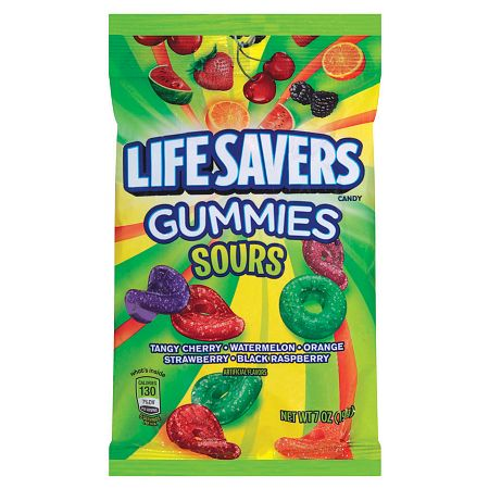 Lifesavers Gummies Sours (7oz) - A Taste of the States