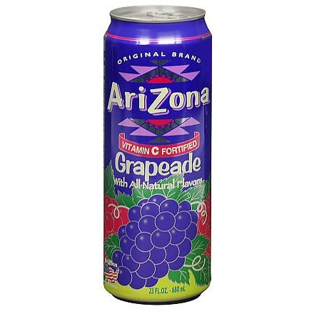 Arizona Grapeade (23oz Big Boy can) 680ml - A Taste of the States