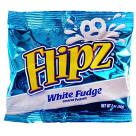 Flipz (White Fudge Covered Pretzels) 2oz - A Taste of the States