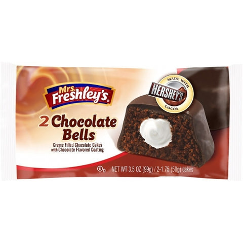 Mrs. Freshley's Chocolate Bells (3.5oz)