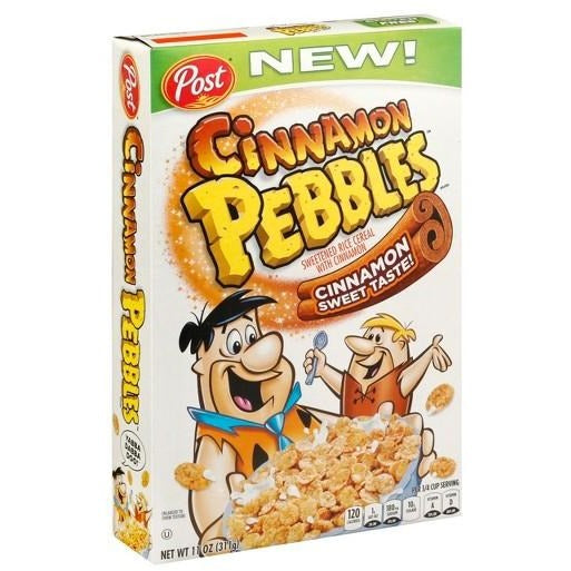 Cinnamon Pebbles Cereal (11oz) 311g - A Taste of the States