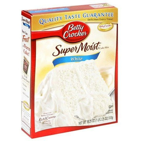 Betty Crocker Super Moist White Cake Mix - A Taste of the States