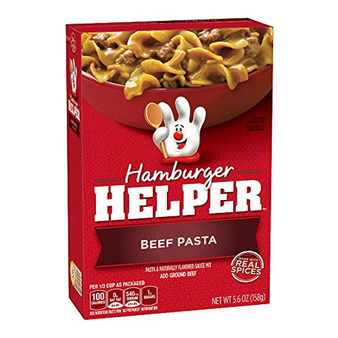 Hamburger Helper: Beef Pasta (5.9oz) - A Taste of the States