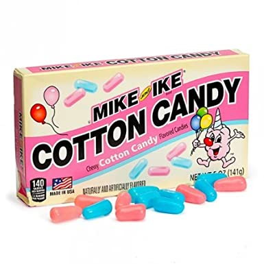 Mike & Ike Cotton Candy Theater Box (5oz) 141g
