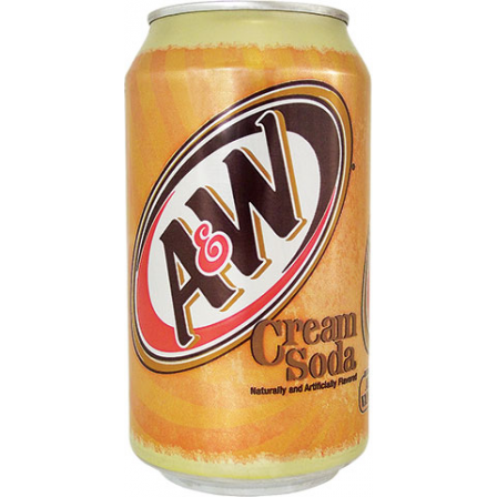 A&W Cream Soda (12fl.oz) - A Taste of the States