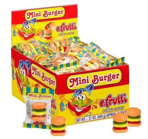 E-Frutti Gummi Burger (single)