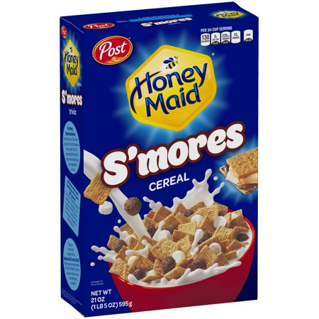 Honey Maid S'mores Cereal (12.25oz) - A Taste of the States