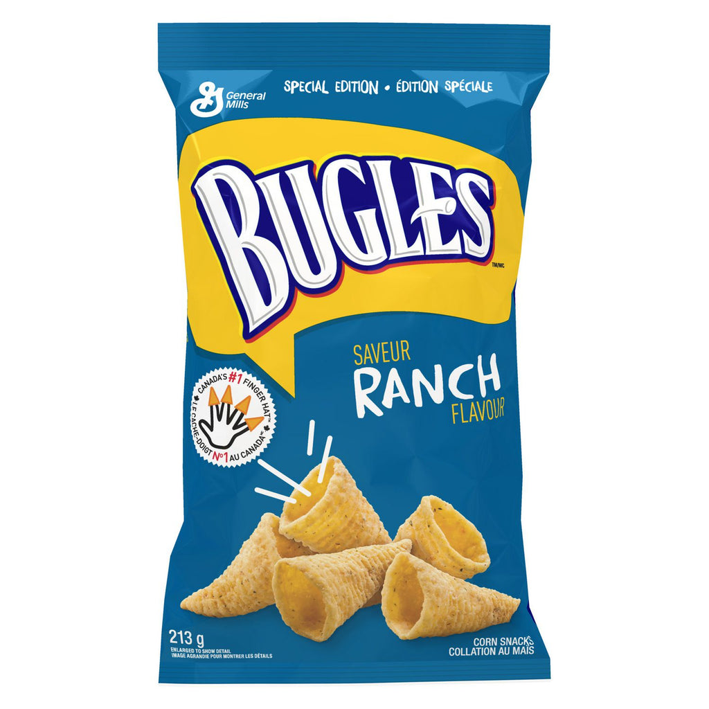 General Mills Bugles Ranch (7.5oz) 213g - A Taste of the States
