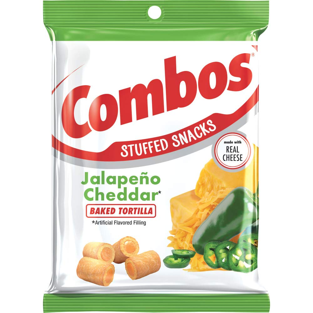 Combos Jalapeño Cheddar Tortilla (6.3oz) - A Taste of the States