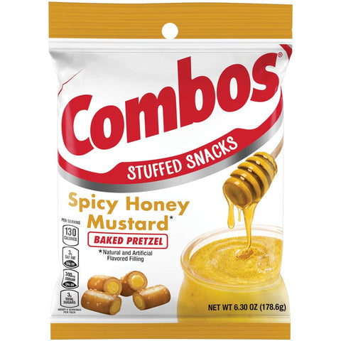 Combos Spicy Honey Mustard Baked Pretzels (6.3oz) - A Taste of the States
