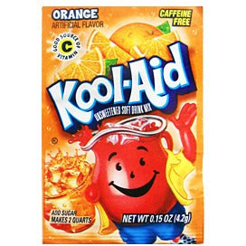 KOOL-AID Orange - A Taste of the States