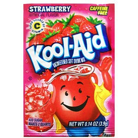KOOL-AID Strawberry - A Taste of the States