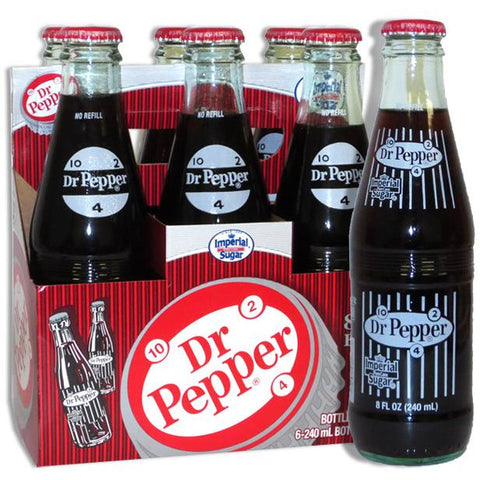 Dr Pepper Original: Made with Cane Sugar (8fl.oz) - A Taste of the States