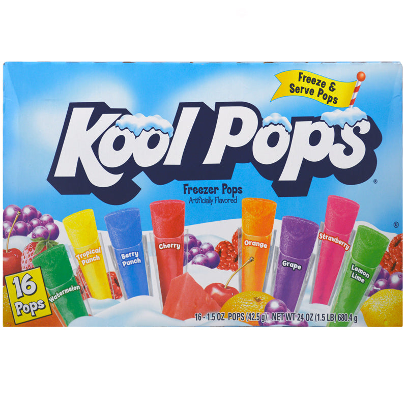 Kool Pops: Original Freezer Pops (Pack of 16)