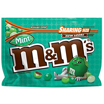 M&M's Dark Mint Sharing Pouch (5oz) - A Taste of the States