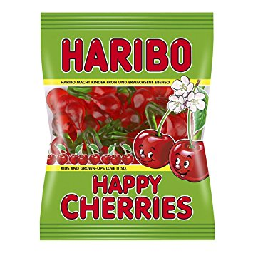 Haribo USA Happy Cherries (4oz) - A Taste of the States