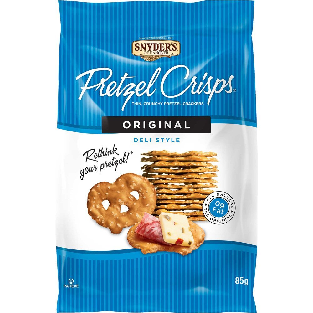 Snyder's Pretzel Crisps - Original (85g) - A Taste of the States