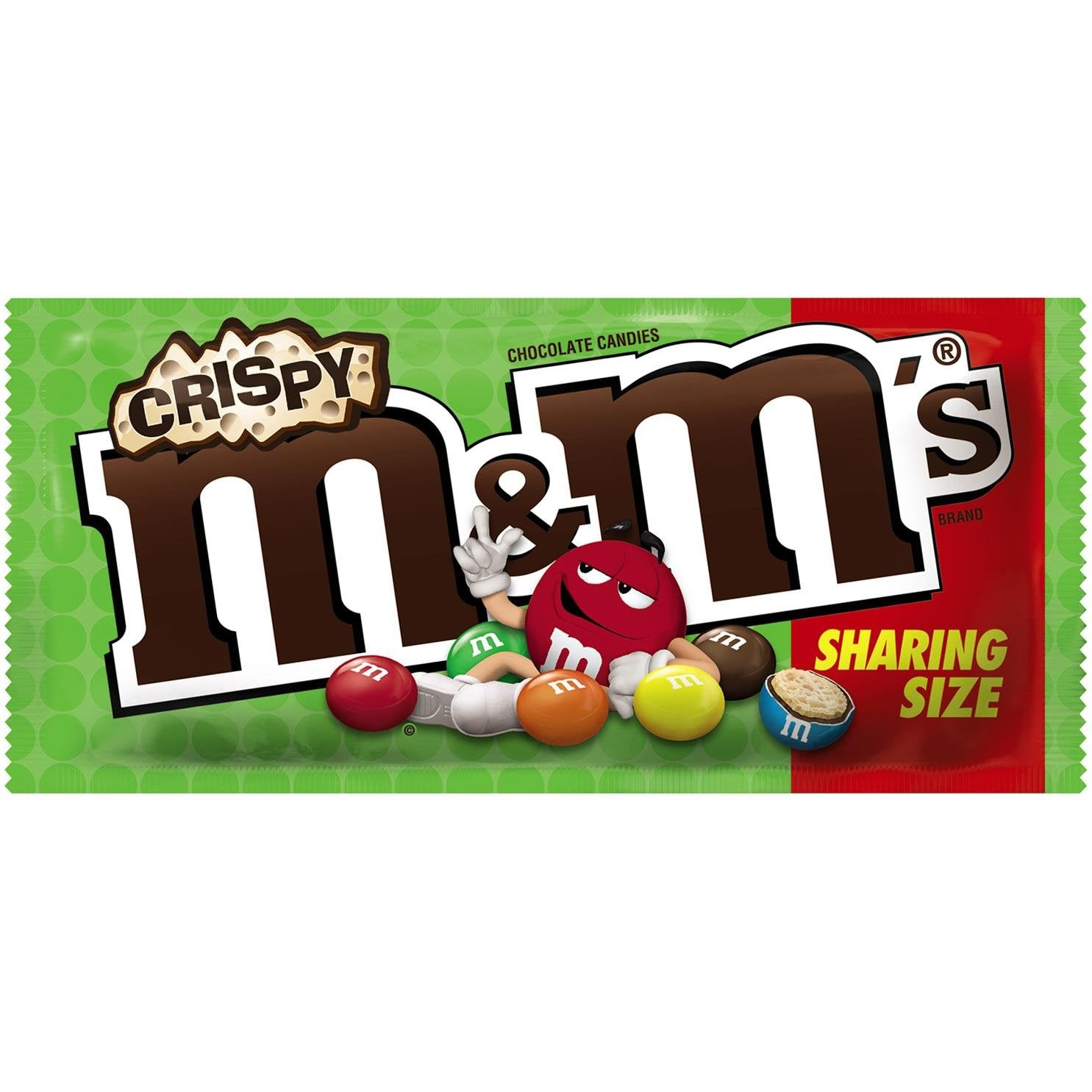 M&M's Crispy USA (Share Size) 2.83oz - A Taste of the States