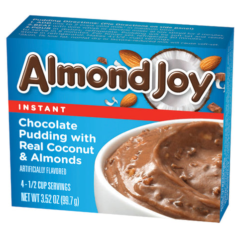 Almond Joy Instant Pudding Mix (3.52oz) - A Taste of the States