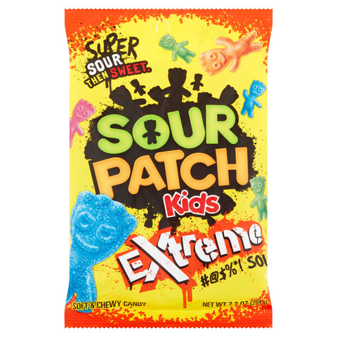 Sour Patch Kids Extreme Peg Bag (7.2oz)