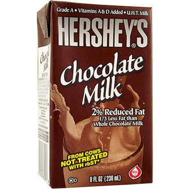 Hershey's Chocolate Milk Drink 8oz (236ml) - A Taste of the States