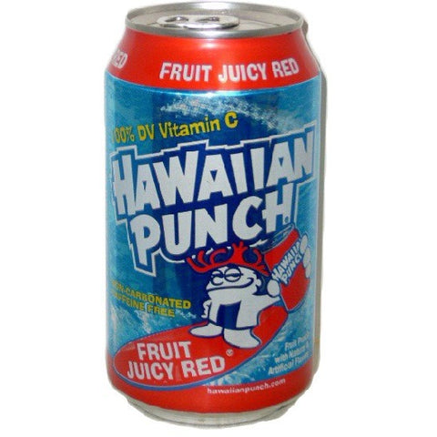 Hawaiian Punch Juicy Fruit Red (355ml) - A Taste of the States