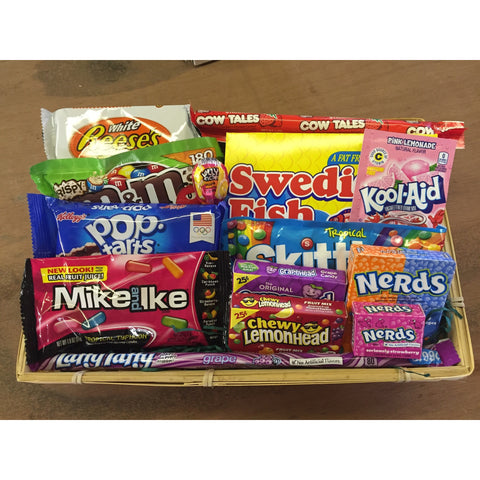Luxury American Candy Hamper (Medium) - A Taste of the States