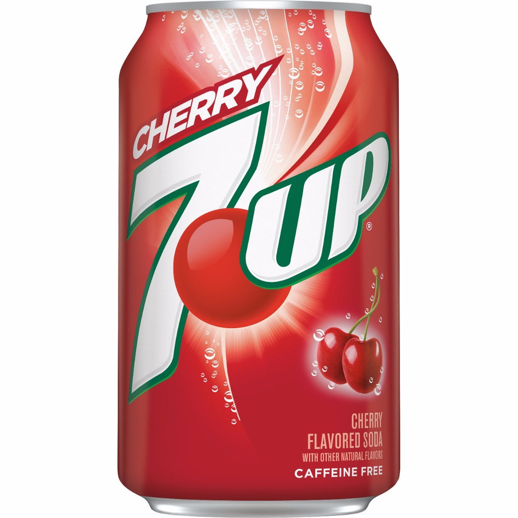7Up Cherry (12fl.oz) - A Taste of the States