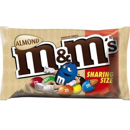 M&M's Almond Share Size (2.83oz) - A Taste of the States