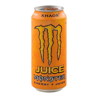 Monster Energy Orange Khaos 16oz (473ml) - A Taste of the States