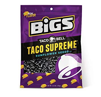 BIGS Taco Bell Supreme Sunflower Seeds (5.35oz) - A Taste of the States
