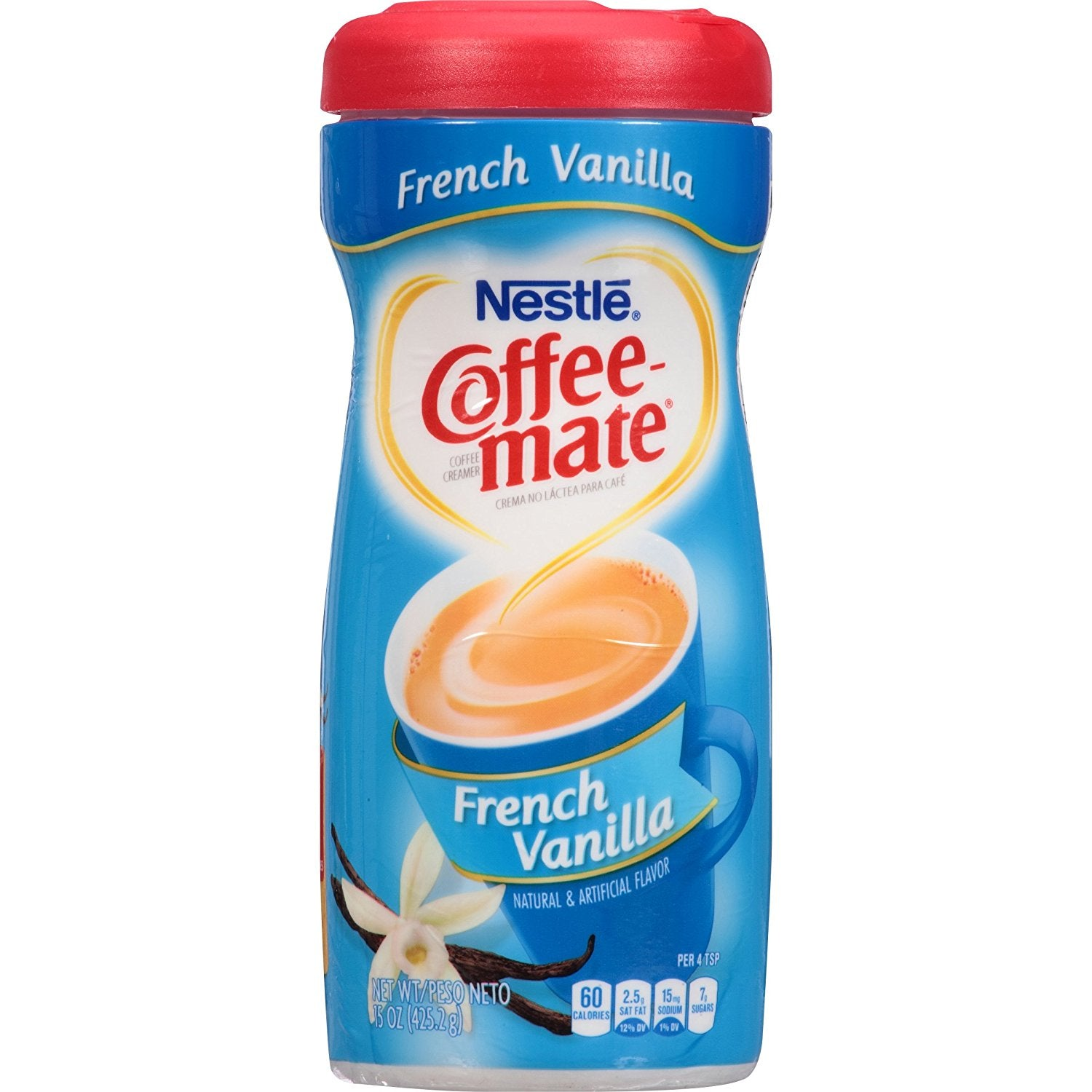 Nestle Coffee-Mate French Vanilla (15oz tub) - A Taste of the States
