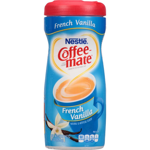 Nestle Coffee-Mate French Vanilla (15oz tub)