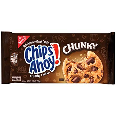 Chips Ahoy! Chunky Choc Chip Cookies (9.5oz) - A Taste of the States