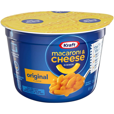Kraft Original Macaroni Cheese Cup (2.05oz)