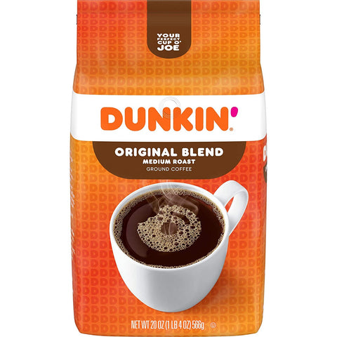 Dunkin' Donuts Original Blend Ground Coffee (XL 20oz)