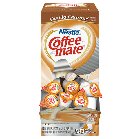 Nestle Coffee-Mate Vanilla Caramel (SINGLE SERVE)