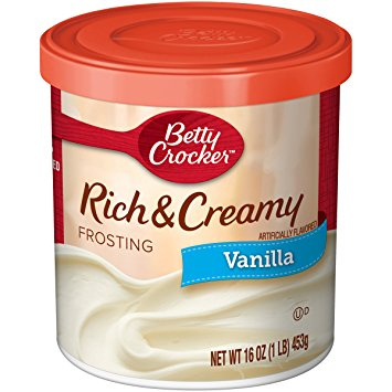 Betty Crocker USA Vanilla Frosting (450g) - A Taste of the States