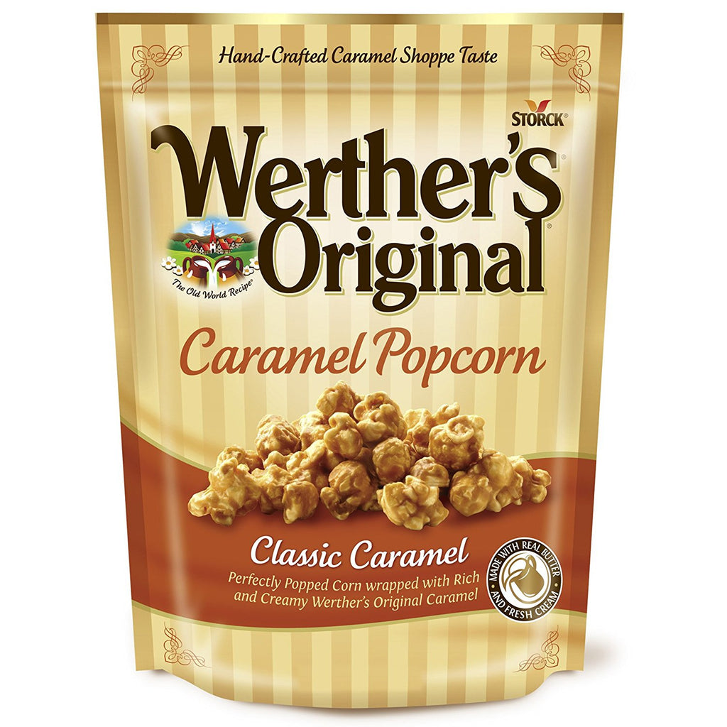 Werther's Caramel Popcorn (6oz) - A Taste of the States