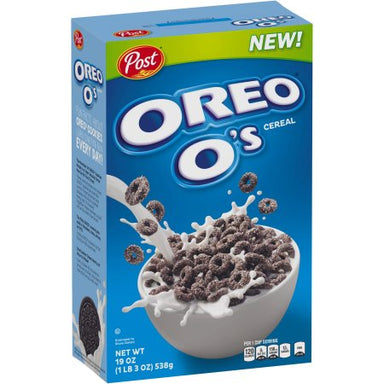 Oreo O's Cereal 11oz (311g) - A Taste of the States