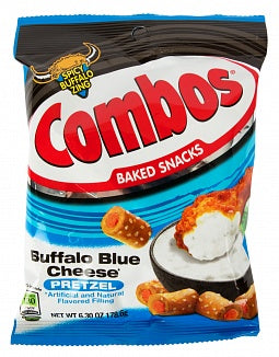 Combos Buffalo Blue Cheese Pretzel (6.3oz Large Bag)